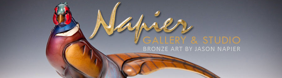 jason Napier Bronze Sculpture