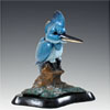 King Fisher Bronze Sculpture