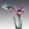 red rufous bronze hummingbird art