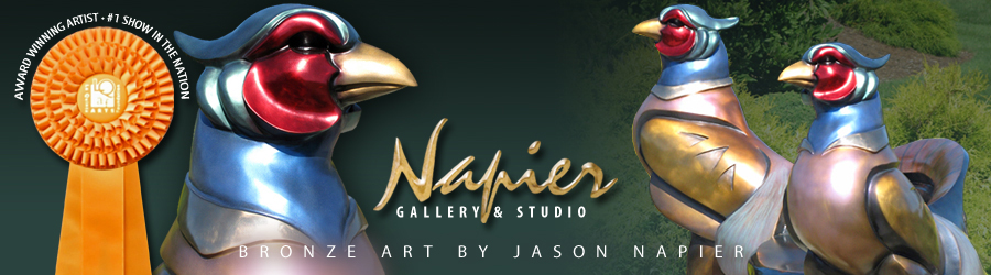Jason Napier Bronze Gallery and Art